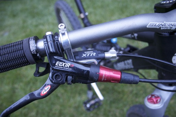 Carbon Bars w/ Red details