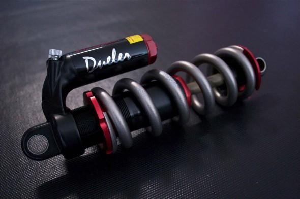 DSP Racing Dueler Shock w/ Diverse Ti Spring - Retail $389.95